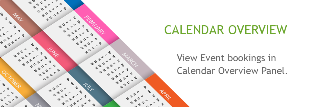 Calendar Overview : Home just another wordpress site