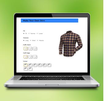 Tailored Shirt Online