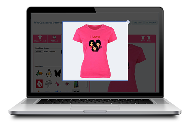 Woocommerce custom t shirt designer plugin for T shirt designer plugin