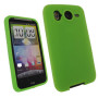medscaleHTC Desire HD Green Silicone Combo