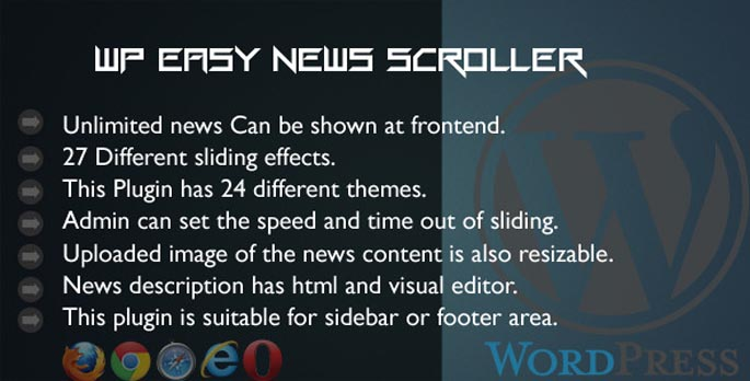 WP Easy News Scroller