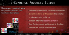 eCommerce Products Slider