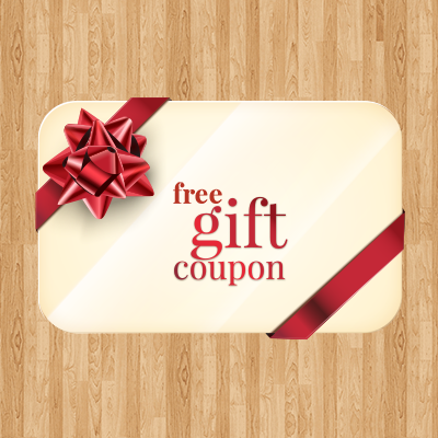 Free Gift Coupon on October & November